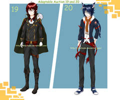 Adoptable Auction 19 and 20 (Closed) by keshi-gomu