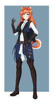 Commission: Captain Lullusel by keshi-gomu