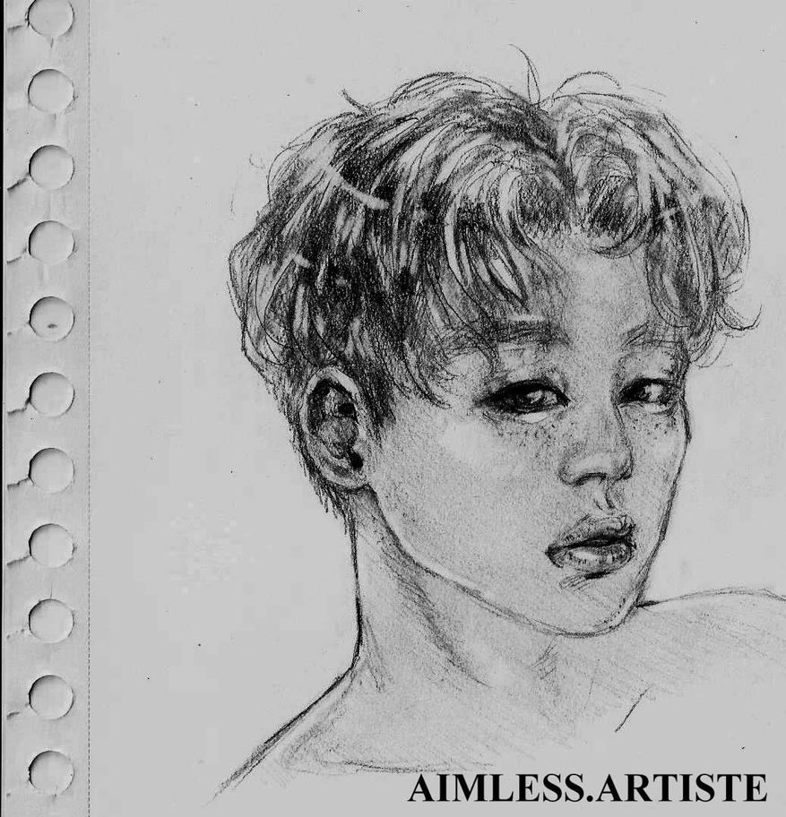 Jimin doodle by DrawArtMelissa