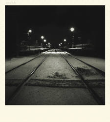 Infinity way on railroad by erakli