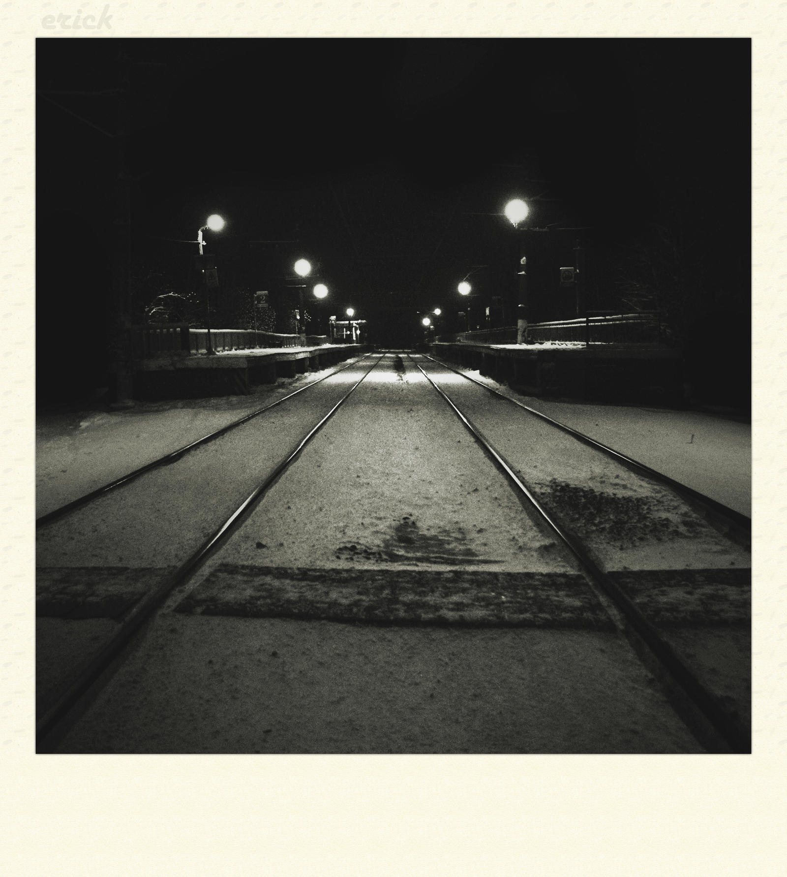 Infinity way on railroad by erakli