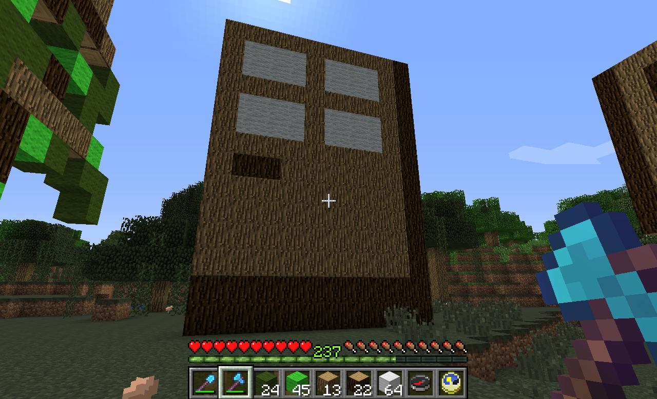 minecraft door. Minecraft Door By Incertus984