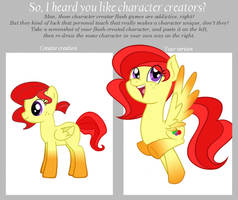 Pony Creator Meme: Sugar Syrup by atomic-kitten10