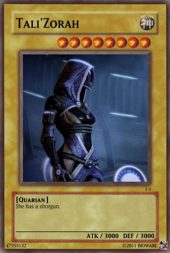 Tali Card by Tank93