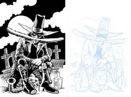 Inks: Shaky Kane - El Bigote!