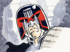 Sketchbook Dredd