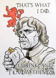 Tyrion Lannister by JimCampbell