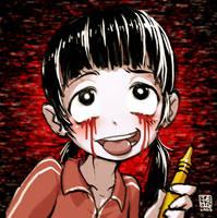 Pixiv Meme - Tomoko Maeda by sachsen