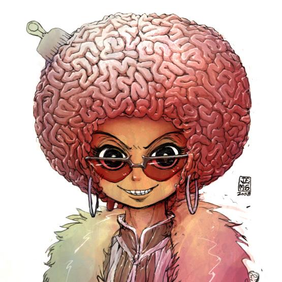 Afro Brain by sachsen
