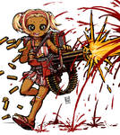 Minigun Girl