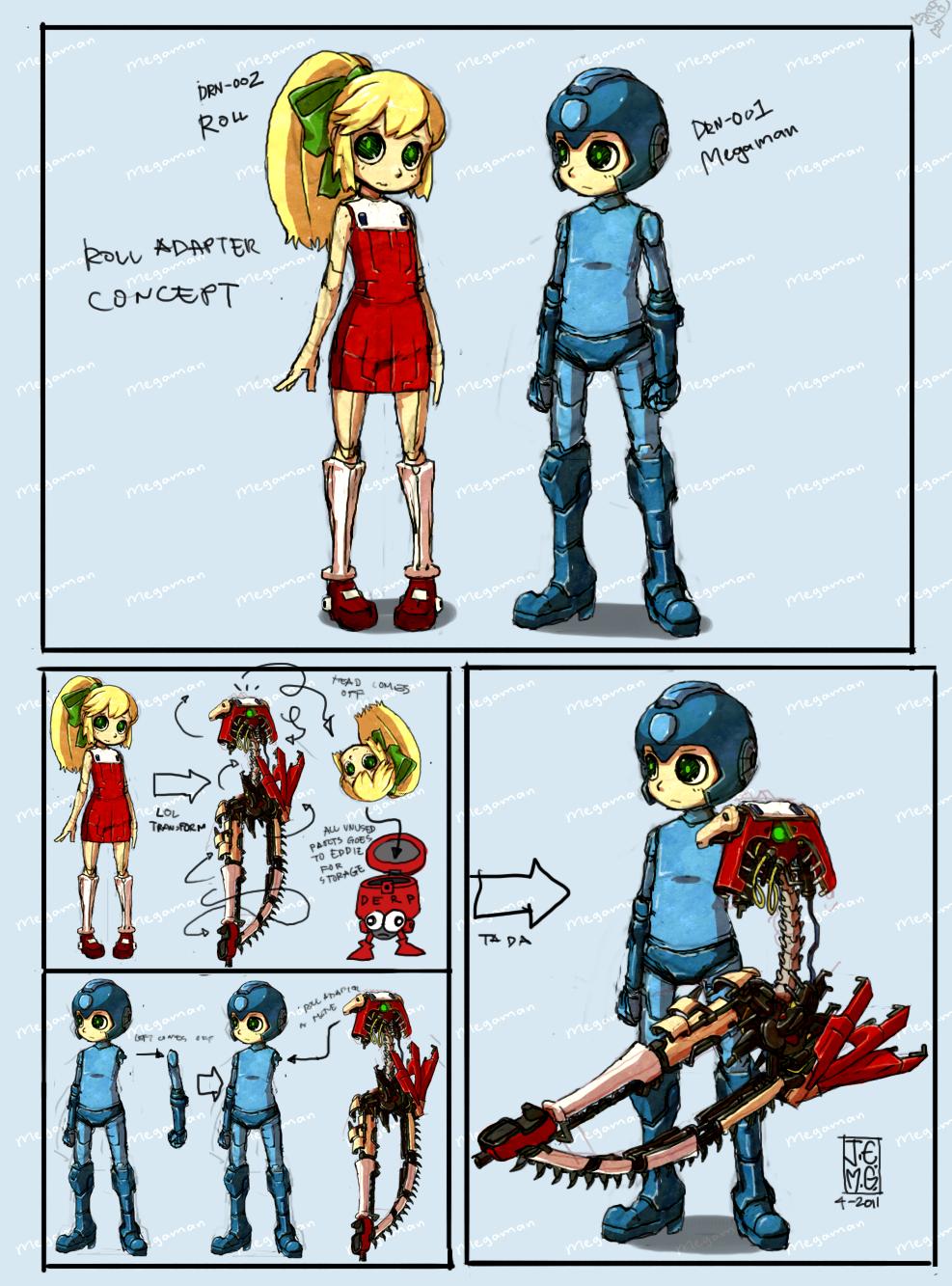 Megaman - Roll Adaptor by sachsen