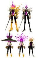 Jeanne the Scorched Saint, Soul Vessel Ann -color