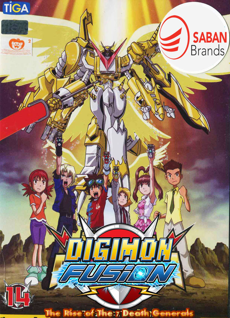 Digimon Fusion The Rise of The 7 Death Generals by digiphantom1994