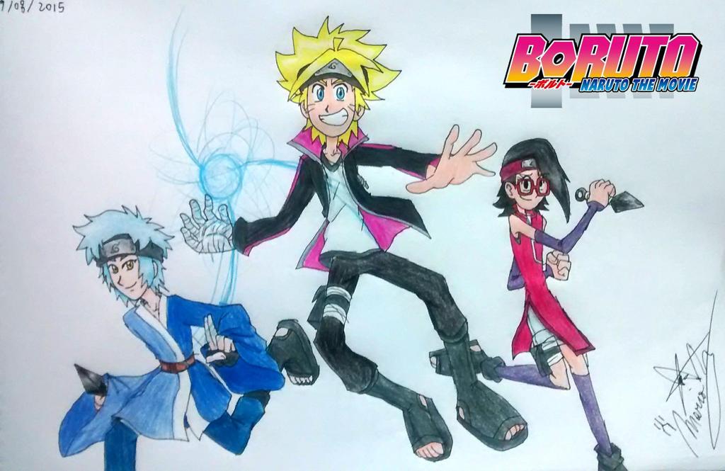 New Team 7 - BORUTO - Naruto The Movie by digiphantom1994 ...