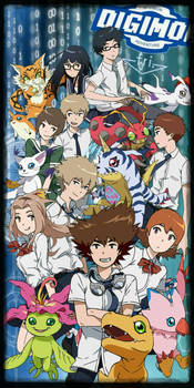 Digimon Adventure Tri. All 9 Digidestined by digiphantom1994