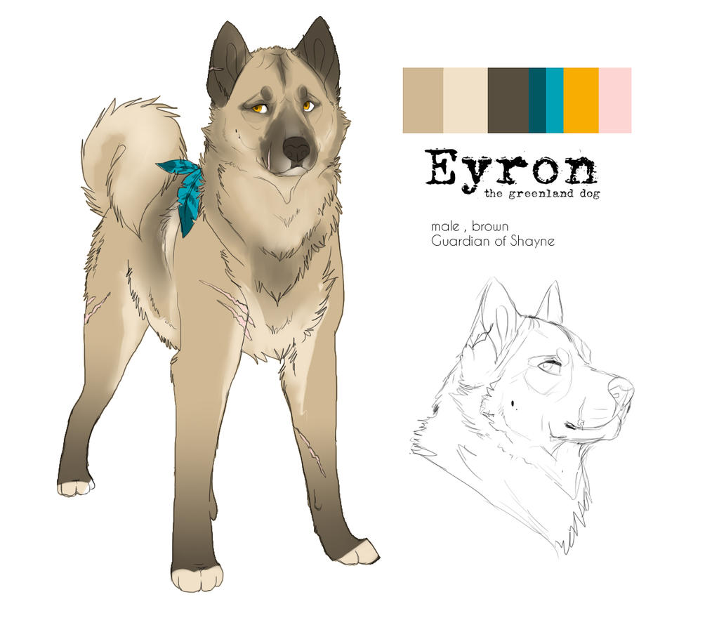 Eyron refference by Wolfunny