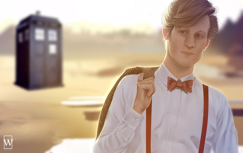 11th doctor by Wolfunny