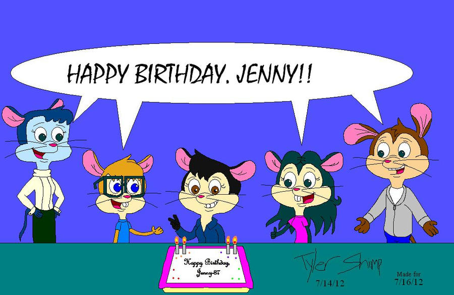 Birthday Card To Jenny 87 By Jackassrulez95 On Deviantart