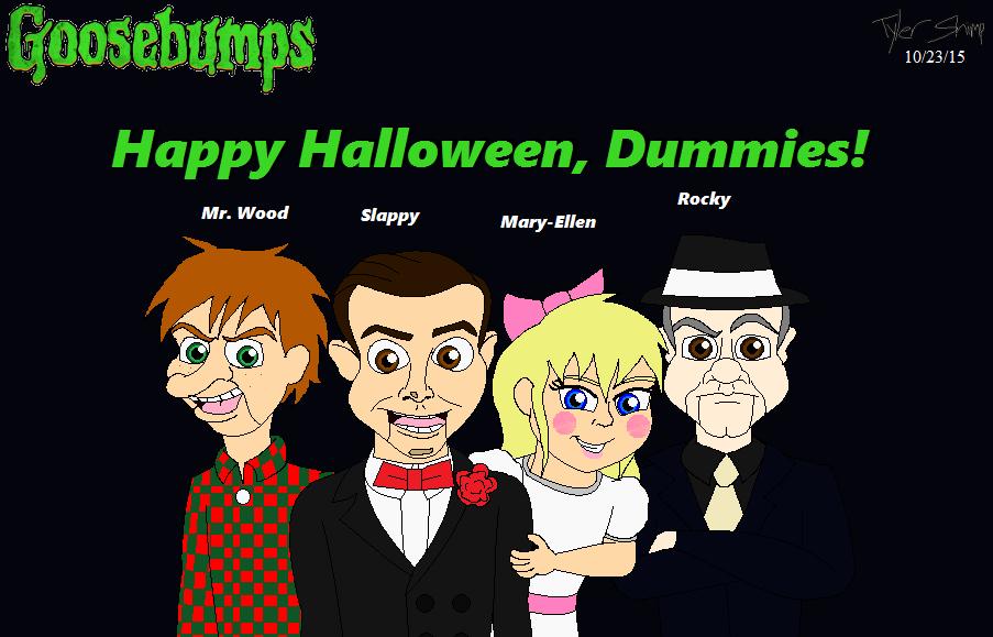 Halloween With Slappy And Friends By JackassRulez95 On DeviantArt