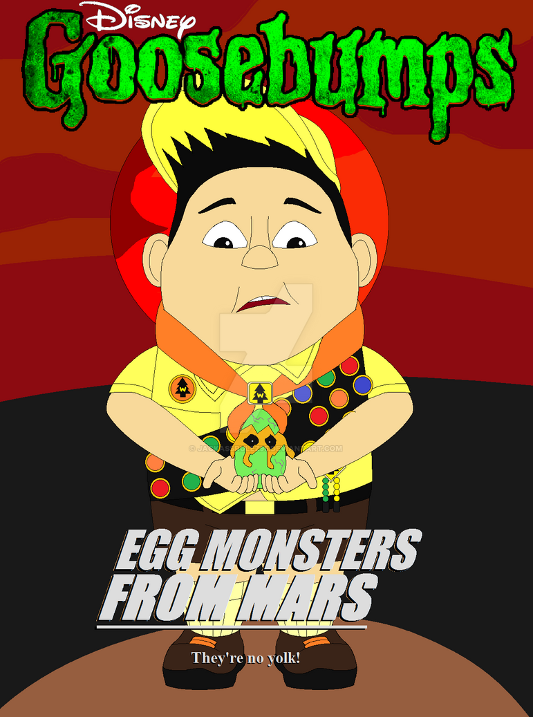Disney's Goosebumps: Egg Monsters From Mars by ...