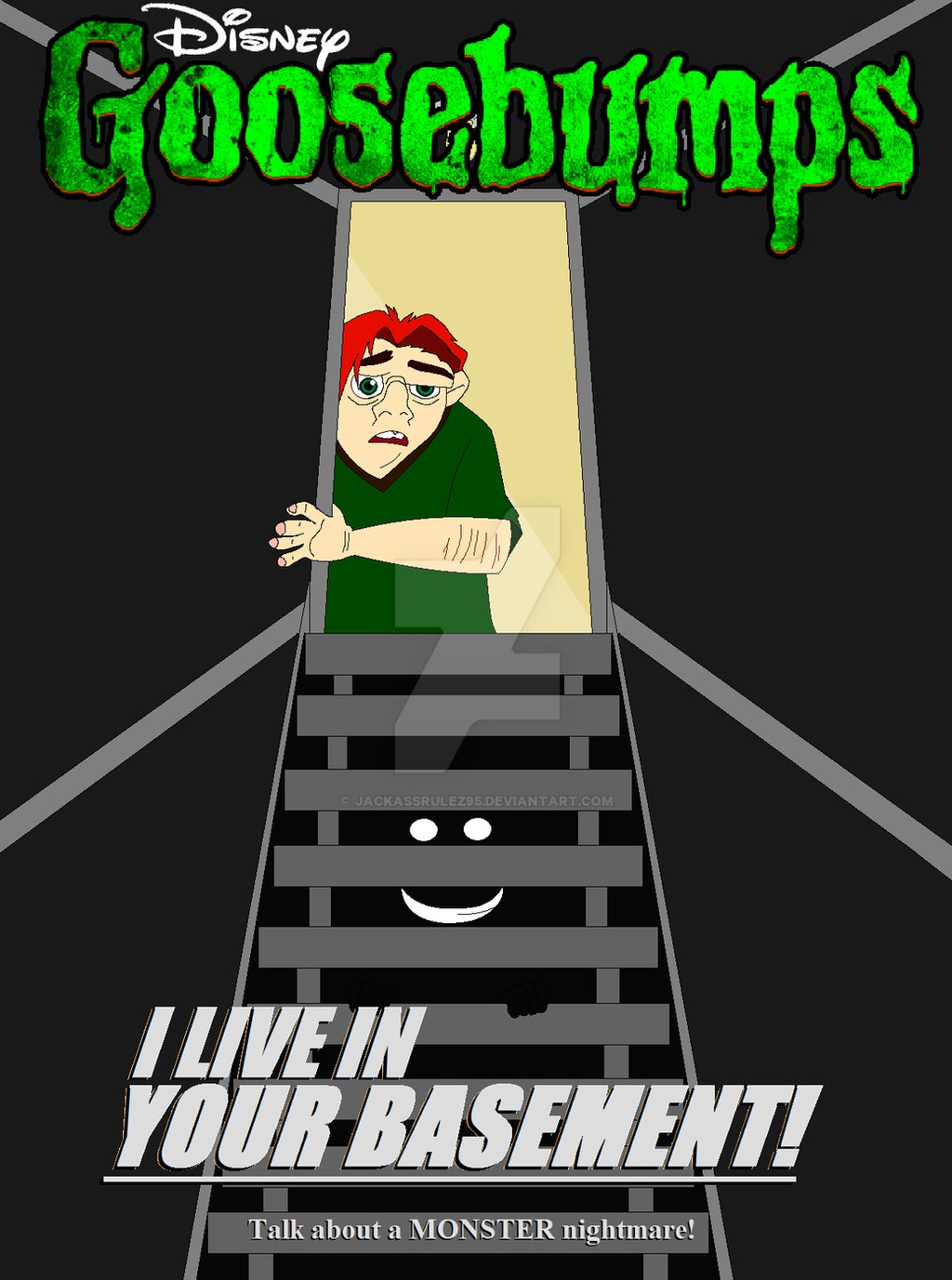 disney 39 s goosebumps i live in your basement by jackassrulez95 on