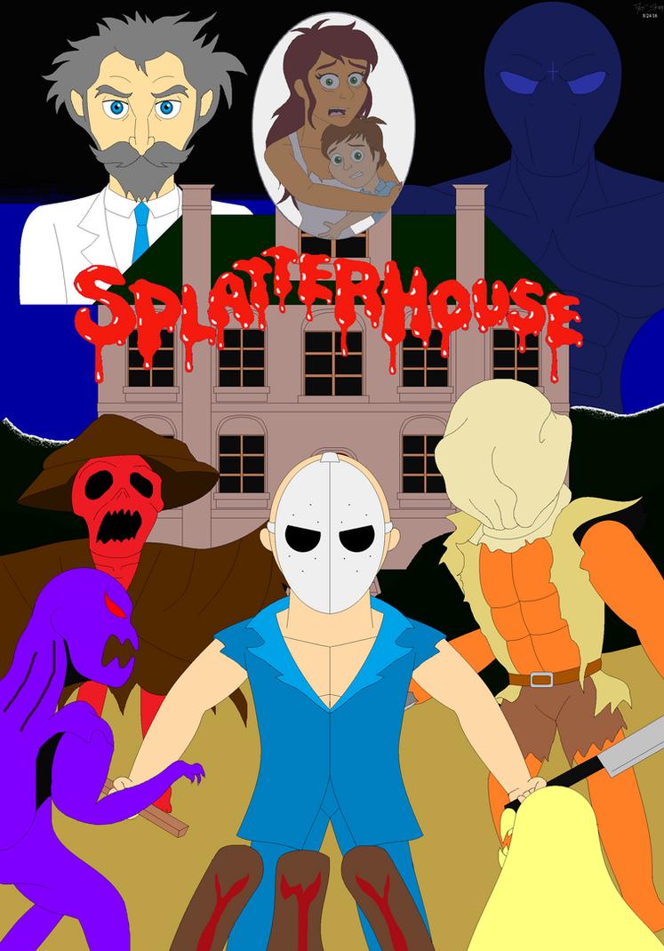 Splatterhouse 2010 part one bloodgasm - 5 9