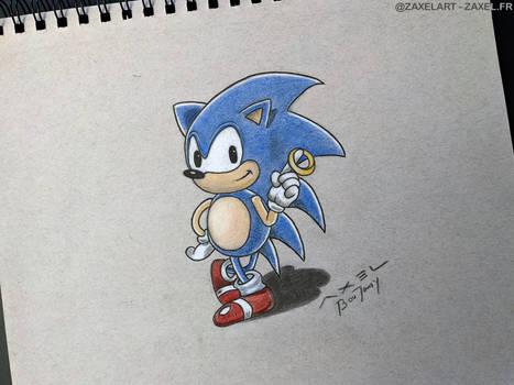 Sonic - Pencil Art