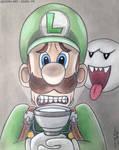 Luigi - Pencil Art