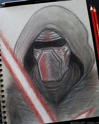 Kylo Ren - Pencil Art