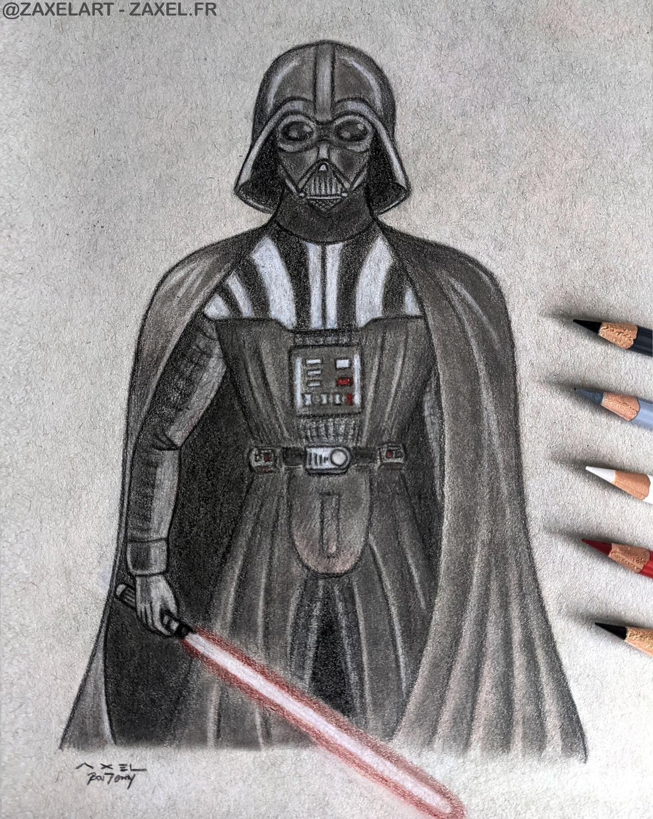 Darth Vader - Pencil Art