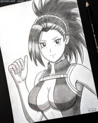 Momo from My Hero Academia - Pencil Art