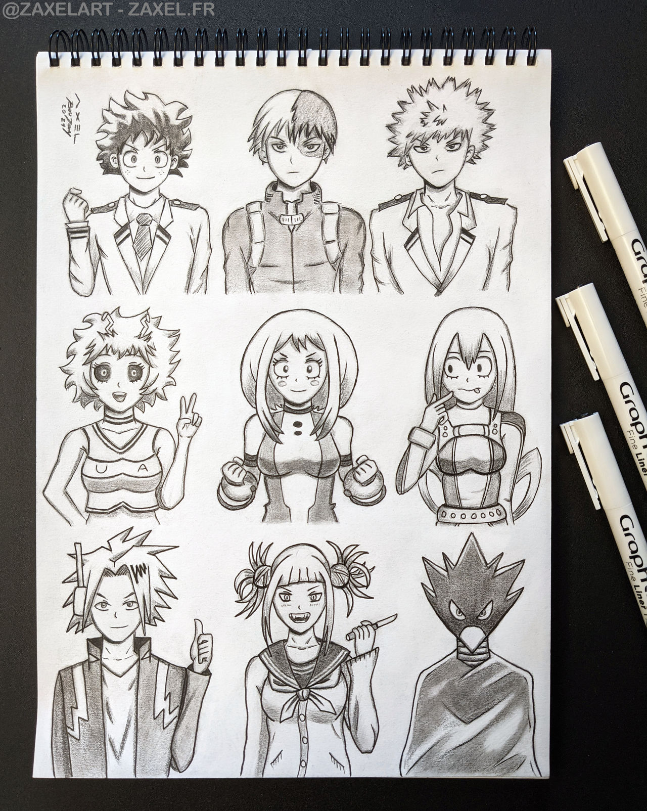 My Hero Academia - Pencil Art