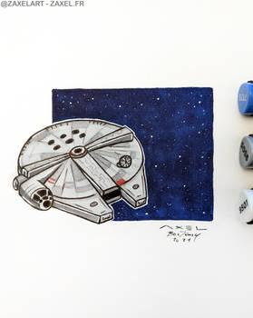 Millennium Falcon - Marker Art