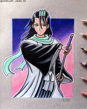 Byakuya from Bleach - Pencil Art