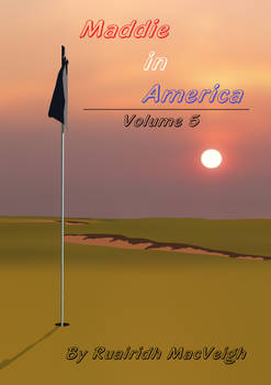 Maddie in America - Volume 5 (Front Cover)