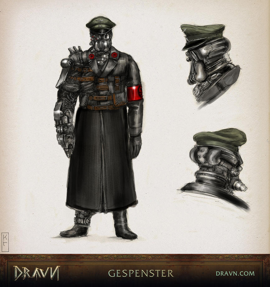 Character Design Techniques Keith Thompson : Dravn pantheon gespenster by dravnofficial on deviantart