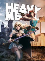 Heavy Metal Mag: Diamond Cover by Kendrick Lim