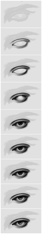 DTutorial : Eye by phoenirius