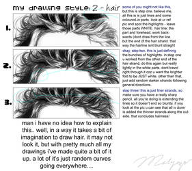 phoen hair steps. by phoenirius