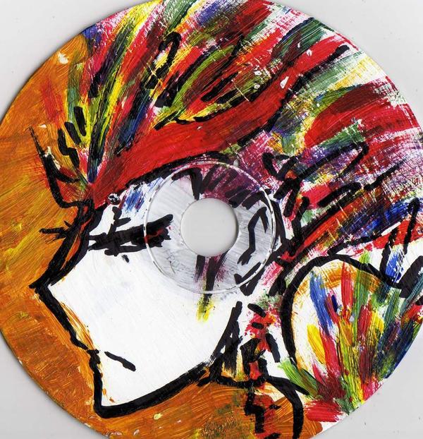 Birdwoman on a CD by paulamartinez