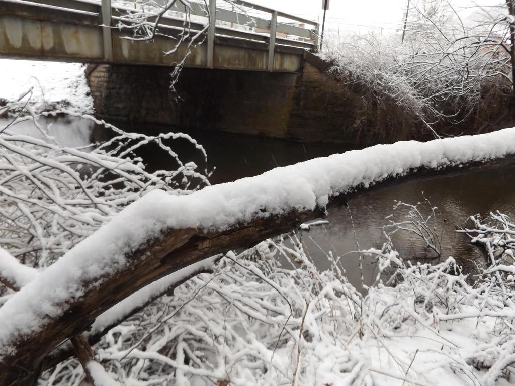 Snow Covered Bridge by BloodKryptoniteTears