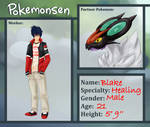 Pokemonsen App: Blake