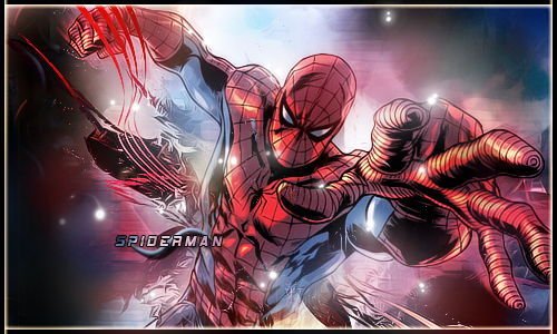 Spiderman Explosion by Shad0wfall