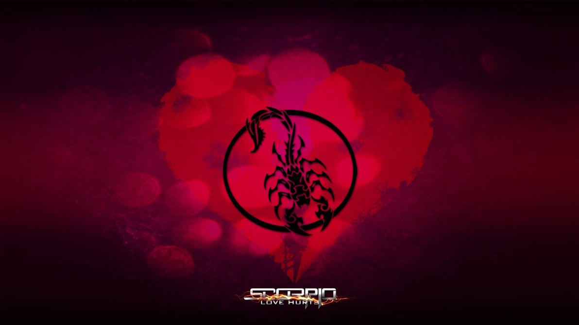 scorpio - love hurts wallpaperpellishd on deviantart
