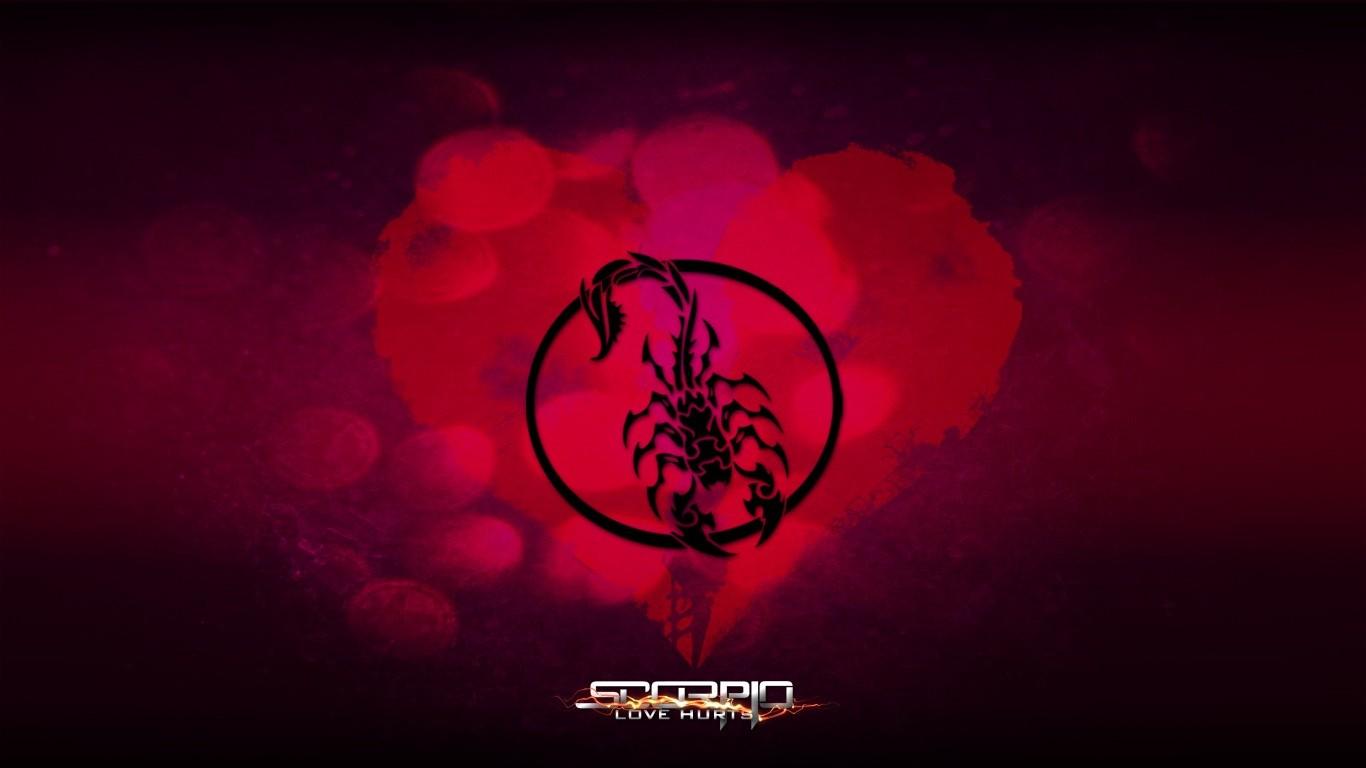 Love Hurts Wallpaper Images : Scorpio - Love Hurts Wallpaper by PellisHD on DeviantArt