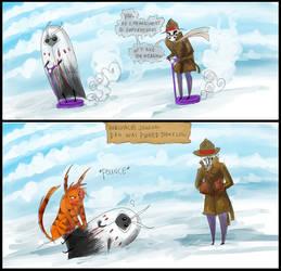 Watchmen Comic ROR AND DAN LOL by DannyPhantomFreek