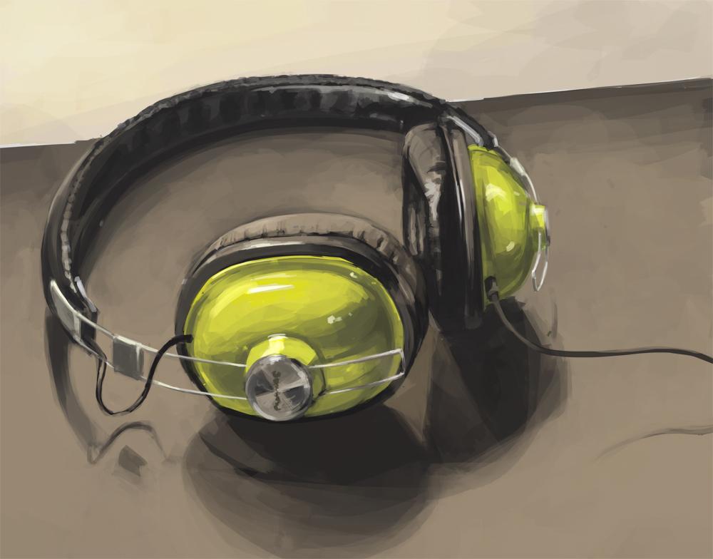 headphones by DannyPhantomFreek