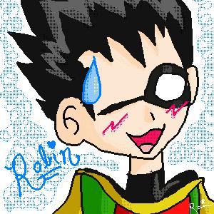 Anime Robin by DannyPhantomFreek on DeviantArt