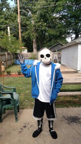 Sans Cosplay by Lex3051