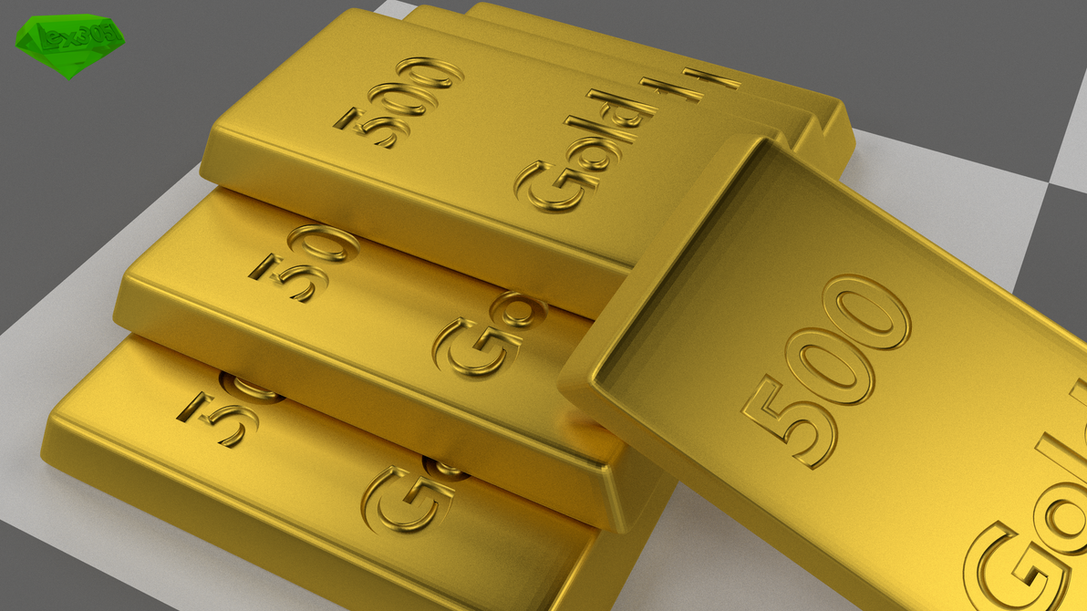 Gold Bars by Lex3051